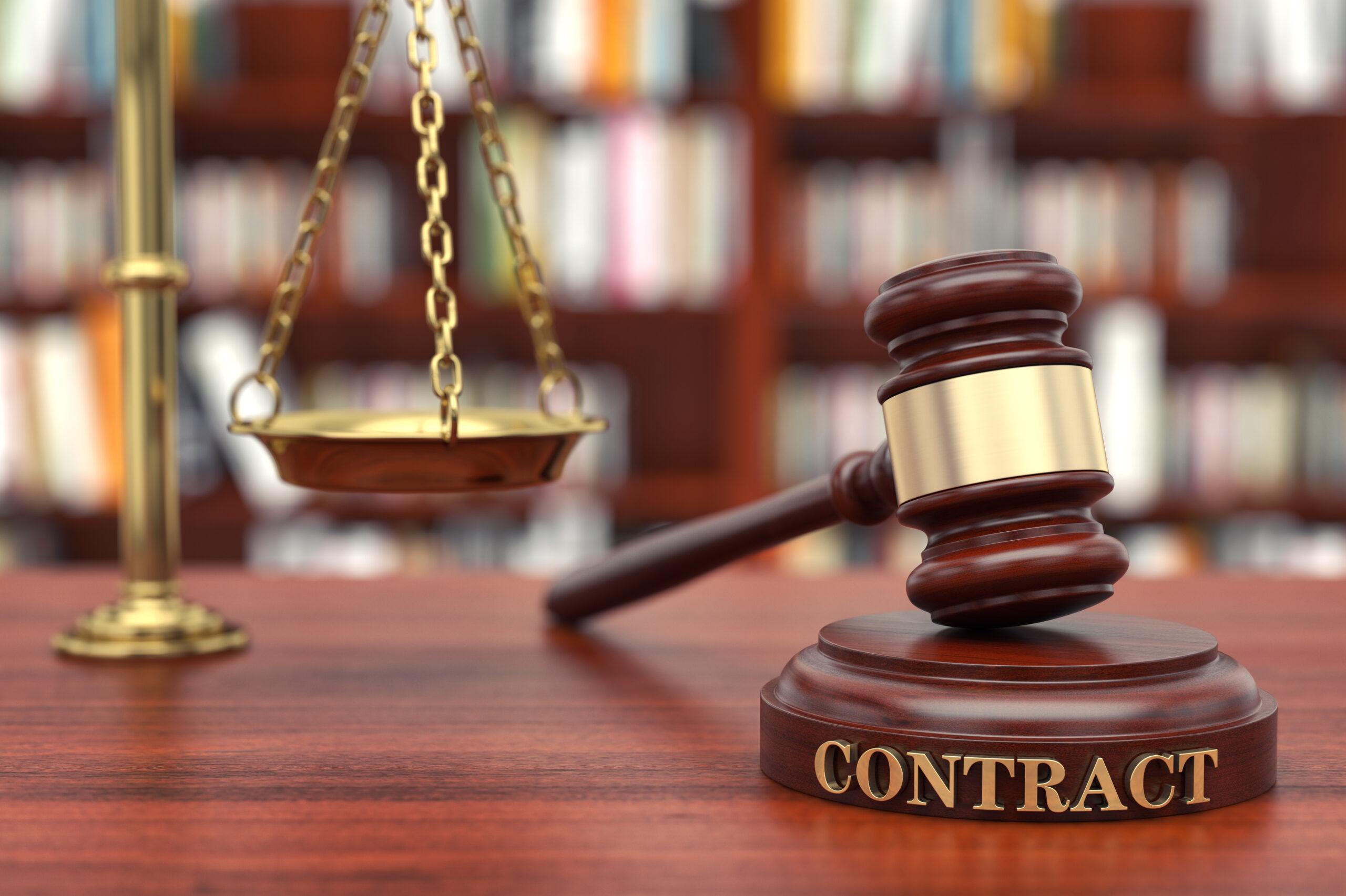 Derecho <strong>contractual</strong>